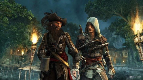 Assassin's Creed 4 Blackbeard and Edward Kenway