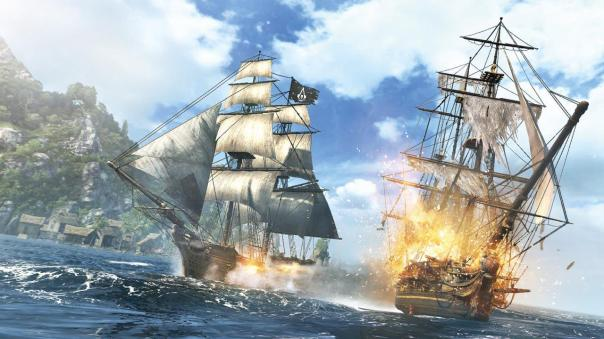 Assassin's Creed 4 Naval Battles